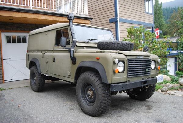 Military Snorkel 1991 Land Rover Defender